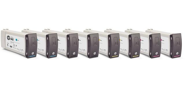 Hewlett-Packard Картридж HP 842C  Cyan