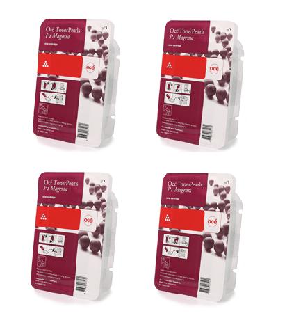Oce Комплект картриджей Oce ColorWave 500 Magenta, 500 гр, 4 шт