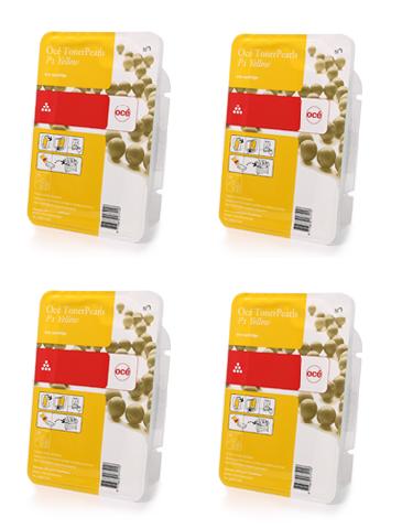 Oce Комплект картриджей Oce ColorWave 500 Yellow, 500 гр, 4 шт
