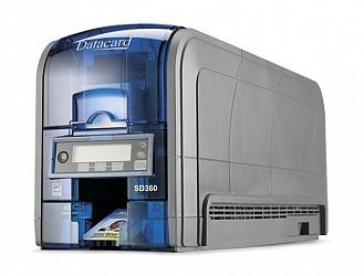 DataCard   SD360 со считывателем контактных и бесконтактных карт и входным лотком