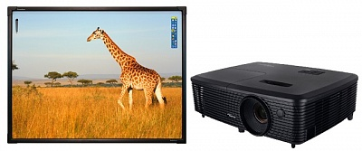 ActivBoard Touch 78 в комплекте с проектором Optoma DX349
