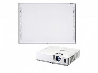 Newline R3-800 + проектор Hitachi CP-EX251N