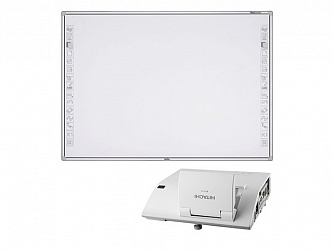 Newline R3-800 + проектор Hitachi CP-AW251