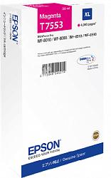 Картридж повышенной емкости с пурпурными чернилами Epson T7553 для WF-8090, 8590 (C13T755340)