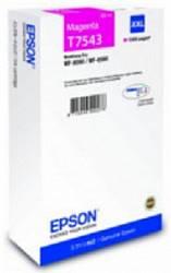 Картридж экстраповышенной емкости с пурпурными чернилами Epson T7543 для WF-8090, 8590 (C13T754340)