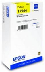 Картридж экстраповышенной емкости с желтыми чернилами Epson T7544 для WF-8090, 8590 (C13T754440)