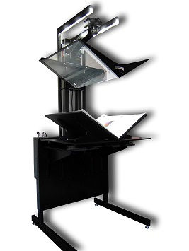 Optima - PLAN A1 51VP (с универсальной колыбелью, V-образным и плоским прижимным стеклом)