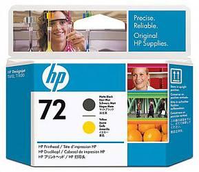 HP Print Head №72 Matte Black & Yellow (C9384A)