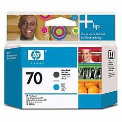 HP Print Head №70 Matte Black & Cyan Printhead (Z2100) (C9404A)