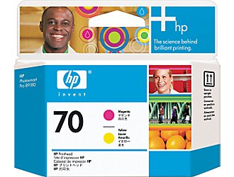 HP Print Head №70 Magenta & Yellow (Z2100/Z3100) (C9406A)