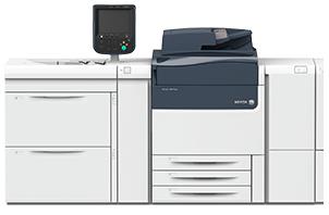 Xerox Versant 180 Press с внешним контроллером EFI и двухлотковым модулем (V180_EX_2TRAY)