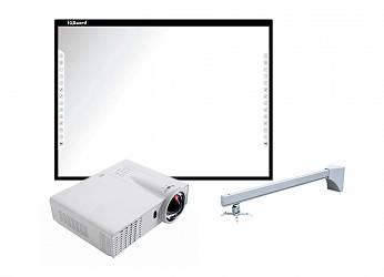 IQBoard DVT T087 + Infocus INV30 + Wize WTH140 (4 места)