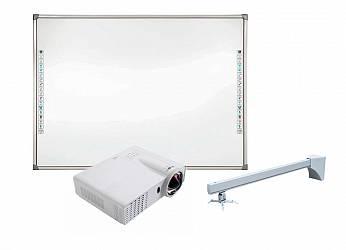 DonView DB-82 IND-H03 + проектор Infocus INV30 + крепление для проектора Wize WTH140
