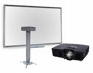 SMART Board SB680 с ключом активации SMART Notebook, с мультимедийным проектором SMART V10 и креплением Digis DSM-14Kw