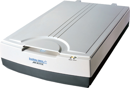 Microtek  ScanMaker 9800XL Plus and TMA1600III