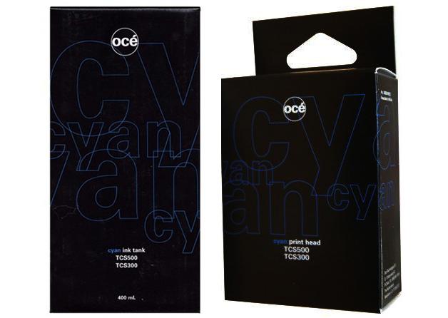 Oce Печатающая головка и 2 картриджа для Oce TCS500, Cyan