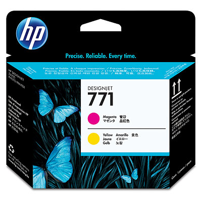 Hewlett-Packard Печатающая головка HP №771 Designjet Magenta & Yellow